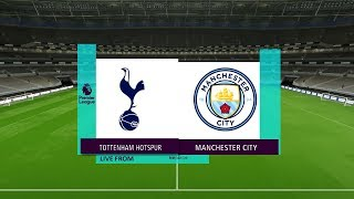 TOTTENHAM VS MANCHESTER CITY | PREMIER LEAGUE | PES 2017 HD GAMEPLAY