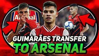 Bruno Guimaraes TRANSFER To Arsenal | Arsenal Transfer News