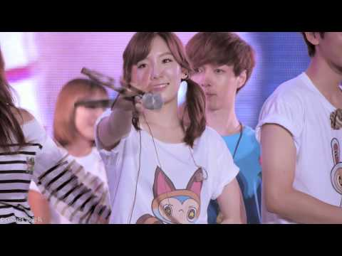 120818 Taeyeon @ SMTOWN in Seoul Ending by 쏭감독