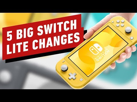 5 Nintendo Switch Lite Changes You Need to Know About