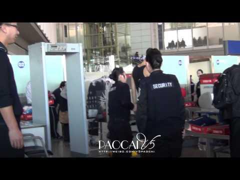 121208 Luhan & TAO & XIUMIN at the Beijing Airport [泡菜V5帝]
