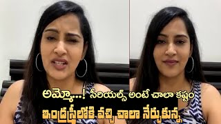 Bigg Boss Himaja: Acting in movies is easier than serials..