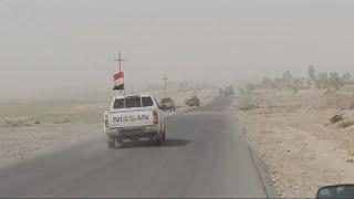 بقايا من داعش يختطفون سائقي شاحنات قرب حمرين     -