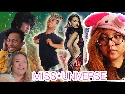 MISS UNIVERSE CONGDO REACTION!!