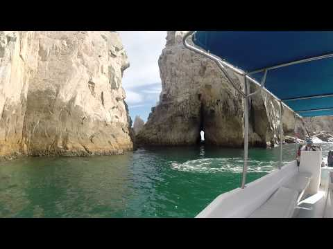 Los Cabos, Mexico Arch Video from Boat