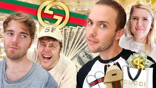 LUXURY SHOPPING WITH MY FRIENDS! *$2000 GUCCI HAUL*