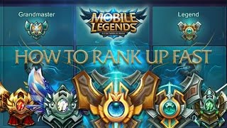 Mobile Legends: How to rank up to Legend Fast