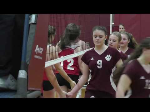 NCCS - Saranac Lake JV Volleyball & Sr. Night 10-23-13