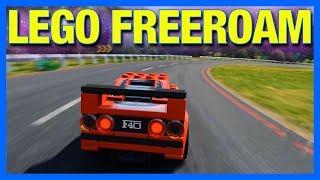 Forza Horizon 4 : LEGO Freeroam Gameplay!! (Full Map, House Building & Exploring)