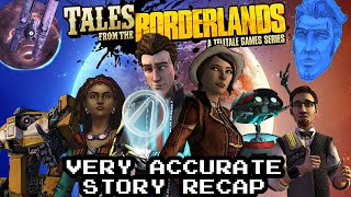 Tales from the Borderlands Very Accurate Story Recap