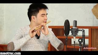 Charlie Puth - Attention - Bamboo Flute cover - Best Of Cover