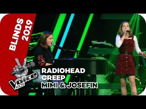Radiohead - Creep (Mimi & Josefin)   Blind Auditions   The Voice Kids 2019   SAT.1