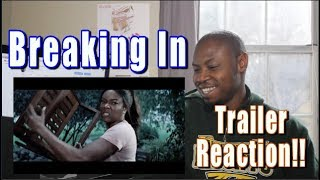 Breaking In Trailer REACTION | Gabrielle Union | Official Trailer