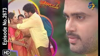 Manasu Mamata | 14th August 2019 | Full Episode No 2673 | ETV Telugu