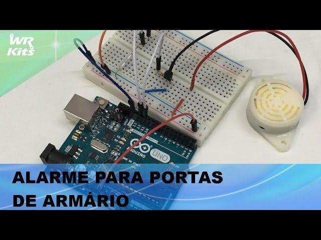 ALARME PARA PORTAS DE ARMÁRIO, COM ARDUINO!