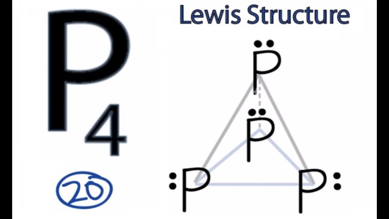 p4 lewis dot structure -#main