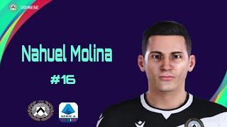 Nahuel Molina Lucero *Face* Pes 2021 (Udinese)