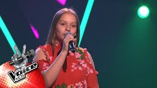 Hanne - 'How Far I'll Go' | Blind Auditions | The Voice Kids | VTM