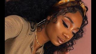 Soft Glam Makeup Look | Dermablend Illuminating Banana Powder | MakeupTiffanyJ
