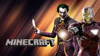 Minecraft: Iron Man VS The Joker