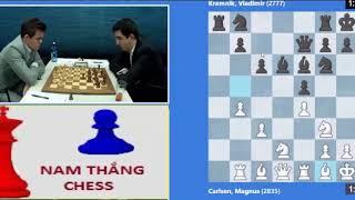 King Magnus Carlsen vs Former King Vladimir Kramnik ❤️ || Tata Steel Masters 2019, Round 4