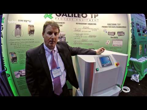 Interview with Craig Roy, Galileo TP Inc., at the AHR Expo 2015