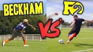 ODELL BECKHAM VS F2 | EPIC BATTLE - Football VS Football