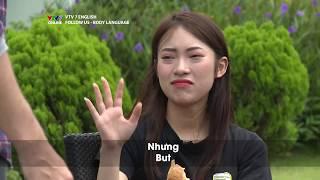 FOLLOW US | Mùa 2 | Body language | Khánh Vy và Dustin cãi nhau vì ... cốc nước cam | VTV7