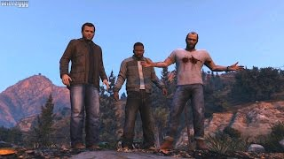 GTA 5 - Ending C - Final Mission 3 - The Third Way