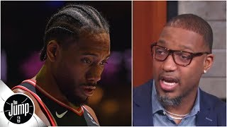 I feel bad for Kawhi Leonard, because I've been there - Tracy McGrady | The Jump