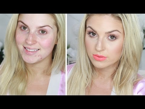 Chit Chat GRWM ♡ Simple Summer Fresh Makeup! Orange/Peach Velourlips - Smashpipe Style