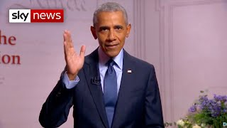 US election 2020: Obama launches personal attack on Trump