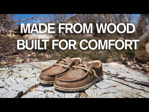 The Most Comfortable Wooden Shoe Ever?