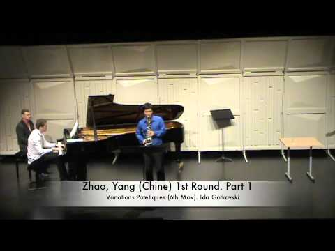 Zhao, Yang Chine 1st Round Part 1
