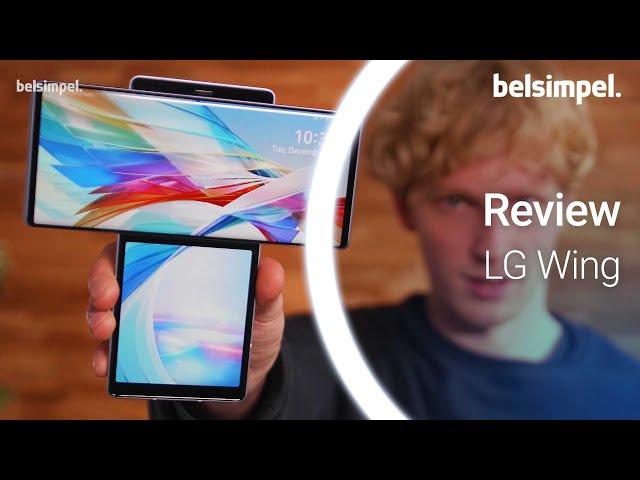 Belsimpel-productvideo voor de LG Wing