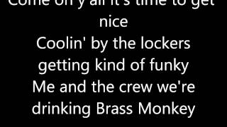 Beastie Boys- Brass Monkey Lyrics