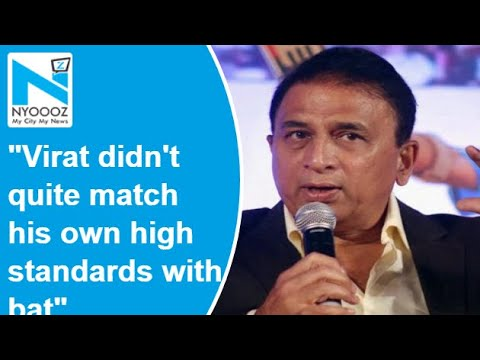 IPL: Kohli didn't quite match his own high standards with bat, says Sunil Gavaskar