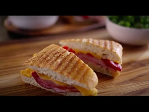 Boar's Head SmokeMaster™ Black Forest Ham & Roasted Red Pepper Panini