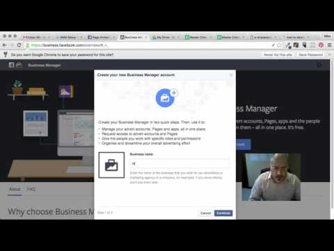 Set Up Business Manager For Facebook