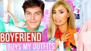 I LET MY BOYFRIEND BUY ME CLOTHES AND PICK MY OUTFITS  | MyLifeAsEva