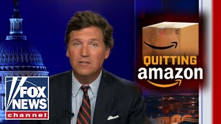 Tucker: Amazon getting more aggressive with it's politics everyday