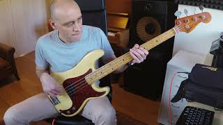 Herbie Hancock - Spider (bass cover)