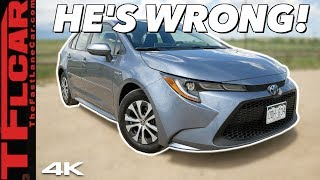 Here's Why Doug Demuro Is Wrong About The New 2020 Toyota Corolla Hybrid