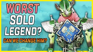 Playing Solo No-Fill With The Worst Solo Legend! Does Revenant Need To Be Changed? - Apex Legends