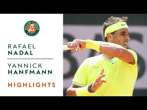 Rafael Nadal vs Yannick Hanfmann - Round 1 Highlights | Roland-Garros 2019