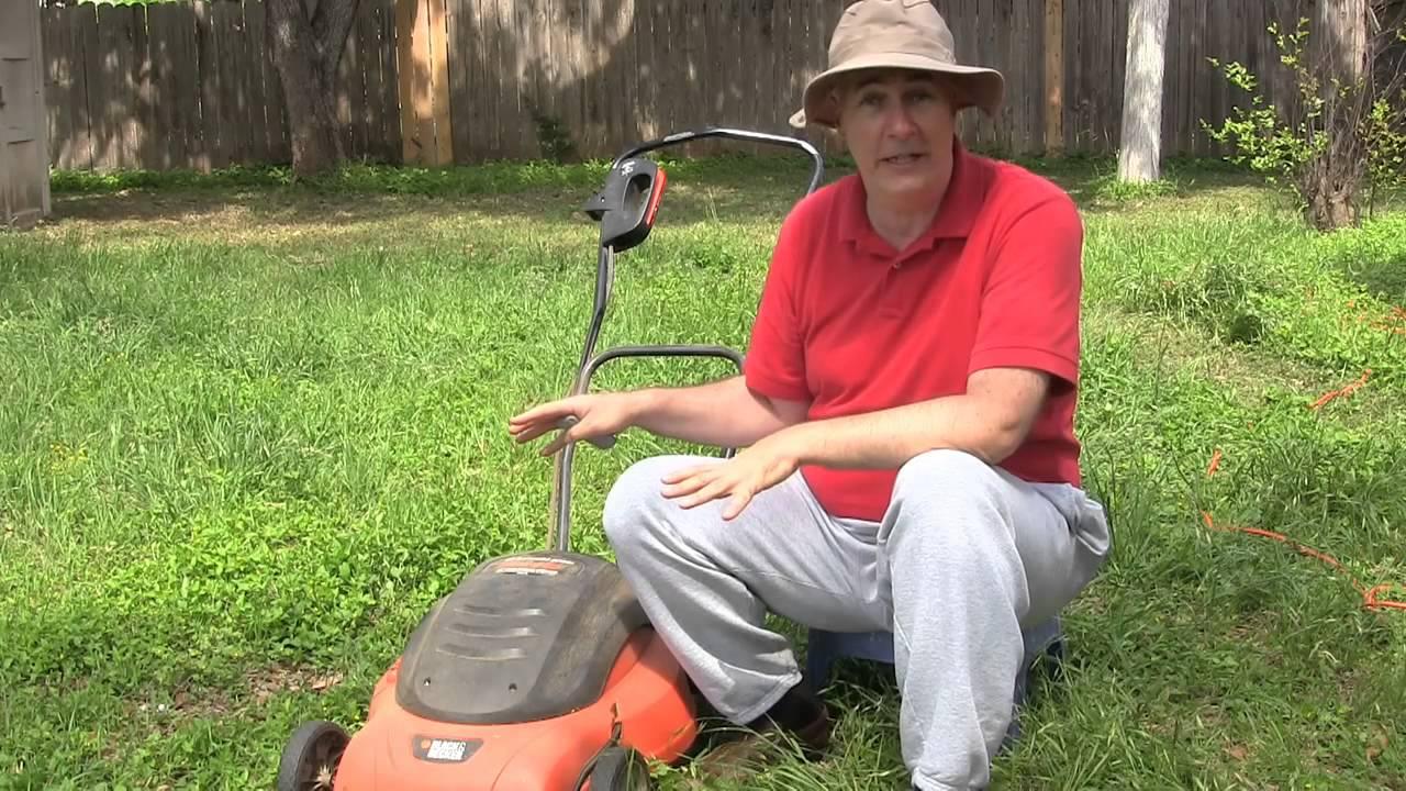 Black Amp Decker Lawn Mower Review Mm575 Youtube