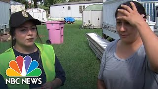 Hispanic Mother Fears Separation If She Evacuates To Hurricane Florence Shelter | NBC News