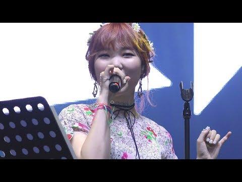 170812 악동뮤지션(AKMU) - 단발머리 (Short Hair) (택시운전사 OST , 원곡 : 조용필) [인천펜타포트락페스티벌] 4K 직캠 by 비몽