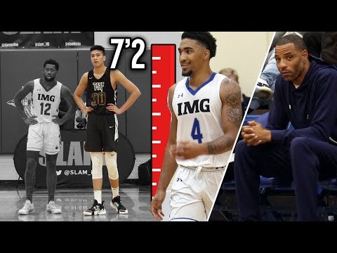 "Kenyon Martin Jr. VS 7'2"" Filipino PHENOM Kai Sotto!! IMG vs TSF Full Highlights"