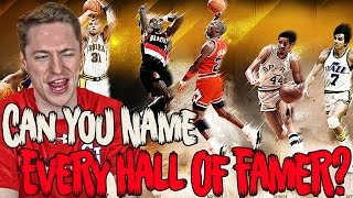 Can YOU Name all 179 Players in the NBA Hall of Fame?